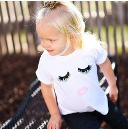 Baby Girls Shirts Design Australia - baby summer short sleeve shirts kids cotton shirt white tops for boy and girl new design cute t shirt