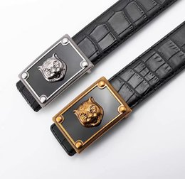 tiger head belt NZ - 2019 belt Brand designer belt mens senior tiger head belts new fashion luxury belt casual cowhide belts for men women waist belts men leathe