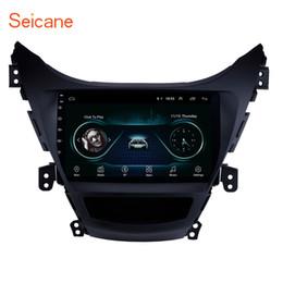 Venta al por mayor de OEM Android 8.1 Pantalla táctil de 9 pulgadas estéreo de automóvil para 2011 2012 2013 Hyundai Elantra con Bluetooth GPS Navi Soporte sintonizador de TV Control remoto