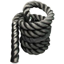 Heavy Jump Rope Fitness saltare ponderata corde durevole professionale Power Training per migliorare la forza attrezzature da palestra di casa in Offerta