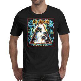 $enCountryForm.capitalKeyWord Australia - Men design printing Def Leppard Hysteria black t shirt printing undershirt graphic designer band shirts retro t shirt sport biker beer