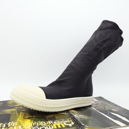 $enCountryForm.capitalKeyWord Australia - New list high quality wave of men's boots genuine leather persional imported elastic sleeve sock soled sheepskin shoes
