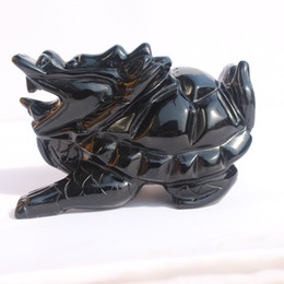$enCountryForm.capitalKeyWord NZ - Natural obsidian dragon tortoise furnishing pieces town house to ward off the evil spirit of the leading turtle furnishing