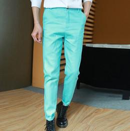 $enCountryForm.capitalKeyWord NZ - Mens Joggers Fashion Harem Pants Trousers Hip Hop Slim Fit Sweatpants Men for Jogging Dance 5 Colors sport pant M-XXXL casual trousers