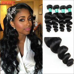 $enCountryForm.capitalKeyWord Australia - 3 or 4 Bundles Jingles Peruvian Hair Weave Bundles 8-28 inch Natural Color 8A Grade Peruvian Virgin Hair Extensions Dyeable Double Weft