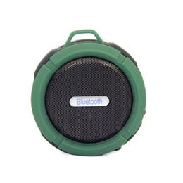 $enCountryForm.capitalKeyWord Australia - C6 Bluetooth speaker wireless Bluetooth Speaker Potable Audio Player Waterproof Speaker Snap Hook Suction Cup With Package