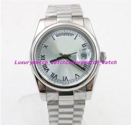 $enCountryForm.capitalKeyWord NZ - 3 Style Luxury Watches 118208 Day Classic Unisex Automatic Mechanical Watch DATE 36mm Men Women Watch Stainless Steel Fashion Watch
