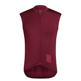 men s sleeveless cycling jersey UK - RAPHA team Cycling Sleeveless jersey Vest NEW men summer Quick-Dry Racing Bicycle ropa ciclismo cycling clothing U70357