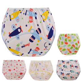 child diapers NZ - 1Pcs Baby Diapers Reusable Nappies Cloth Diaper Washable Infants Children Baby Cotton Training Pants Panties Nappy 6-16kg new
