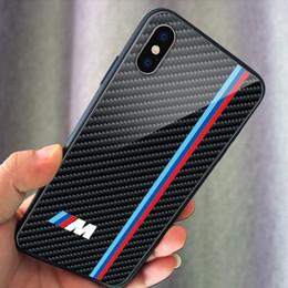 Marcas do carro logotipo phone phone case capa de vidro para iphone 6 6 s 7 8 mais xs max samsung note9 note10 a20 s9 s10 plus lite em Promoção