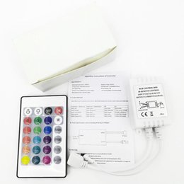 $enCountryForm.capitalKeyWord Australia - DC12V 6A 24Key RGB IR Remote Controller LED Lights Controller Dimmer For SMD 3528 5050 2835 3014 Strip White box packaging