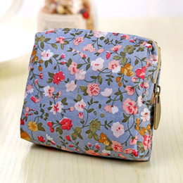 $enCountryForm.capitalKeyWord Australia - Women Coin Purse Cute Flower Printing Ladies Small Wallet Pocket Headset Line Pouch Credit Card Holder Lipstick Bag Girl Gift