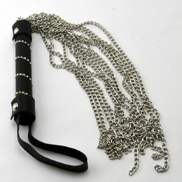 $enCountryForm.capitalKeyWord Australia - Metal Chains Whip Flogger Ass Spanking Bondage Slave In Adult Games For Couples Fetish Sex Products Toys For Women And Men Gay SH190726