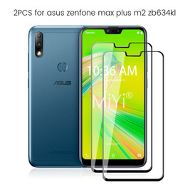 tempered glass screen asus zenfone NZ - cases2010 2pcs protective glass for asus zenfone max plus m2 zb634kl tempered glass screen protector on the maxplus m 2 2m zb 634kl film