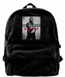 2686a198d Tupac Trust Nobody 2pac Rap Music Legend Diseñador de moda de lona Mochila  Para Hombres Mujeres Adolescentes Mochila de viaje College Bolsa de ocio  Negro