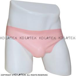 c93a7bcdc8 Baby Pink Sexy Latex Briefs Underpants Fetish Rubber Panties Shorts  Underwear Bondage Pants 2017 Hot Sales Female underpanties DK-0051
