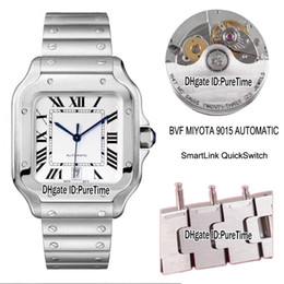 $enCountryForm.capitalKeyWord Australia - Best Edition BVF WSSA0009 40mm Steel Case White Dial Miyota 9015 Automatic Mens Watxch SmartLinks Quick Switch Bracelet Watches Puretime