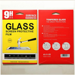 Wholesale Boxes Packaging Australia - Retail box Package Paper packaging boxes bag for Tempered Glass Screen Protector for for ipad air2 5 6 234 Mini New ipad 2017