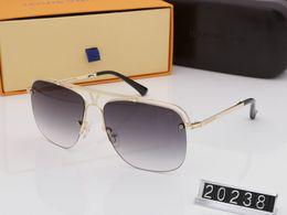 859d4ad83097 millionaire Sunglasses popular fashion men designer sunglasses 0937 20238 square  plate metal combination frame anti-UV400 lvv