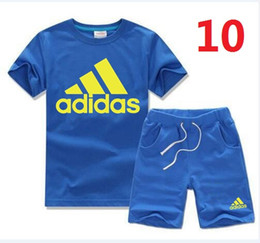 Summer Football Camps Australia - 2019 New Summer Children's Clothing Baby Boy Girl Clothes Sets Infant Short Sleeve Print Letter Wing Two Pieces Child Kids Suits