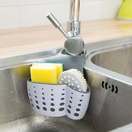 $enCountryForm.capitalKeyWord Australia - Bathroom toy Organizer vanzlife for the Kitchen storage bags basket hanging bag home faucet washing drain Sponge holder for