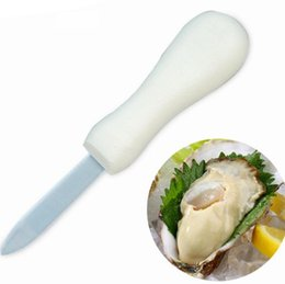 Discount marketing tool - Stainless Steel Fresh Oyster Knife Multifunction Non Slip Openers Shell Tool For Night Market Shop Use Pry The Oysters L
