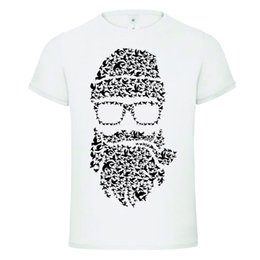 Wholesale BIRDS BEARD FACE MUSTACHE BARBER funny t shirt TEE birthday gift dtg Funny Unisex Casual