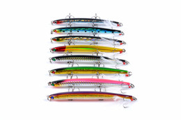 Fishing Lures 3d Australia - New 3D Eyes Long casting Suspend Sinking Diving swimbaits 11.8g 11.7cm Pencil Laser bait Lipless Lifelike fish fishing lure