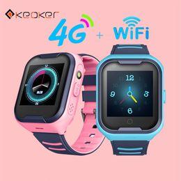 $enCountryForm.capitalKeyWord NZ - Keoker 2019 Kids Smart Watch 4G GPS WIFI Tracking Video Call Waterproof SOS Voice Chat Children Watch Care For Baby Boy Girl