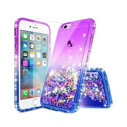 luxury sparkle cases 2019 - For Iphone XS Case Luxury Glitter Liquid Quicksand Floating Flowing Sparkle Shiny Bling Diamond Stylish Clear Cute Case