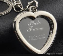 Design Photo Frames Australia - 6 models photo frame keychain alloy locket picture key chain heart apple key rings heart Designs apple bag pendants fashion jewelry 240241