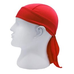 running hats for men UK - Men Outdoor Quick Dry Cycling Cap Sports Pirate Sweatband Headscarf Cap Headwear Hat Breathable Running Hiking for Running