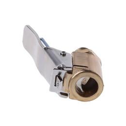 Brass air valve online shopping - 1PC Car Auto Brass mm Tyre Wheel Tire Air Chuck Inflator Pump Valve Clip Clamp Connector Adapter Car styling