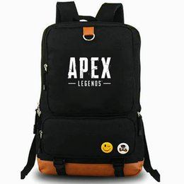 a9b8c1ba08d8 Apex legends backpack Coo hero day pack Hot play school bag Game fans  packsack Laptop rucksack Sport schoolbag Outdoor daypack