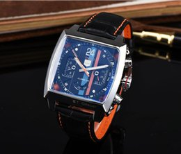 $enCountryForm.capitalKeyWord NZ - 19ss top quality mens luxury watch MNC series brand men Watches square dial leather strap Wristwatches full featured work mechanical watch