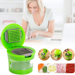 $enCountryForm.capitalKeyWord Australia - Multi Function Ginger Garlic Presses Grater Chili Pepper Slicer Onion Cutter Crusher Practical Household Gadgets Kitchen Tools