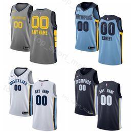 6dee98dc5c38 Printed Men Youth Women Mike Conley Jersey 11 Memphis Basketball Grizzlies  Jonas Valanciunas Avery Bradley Jaren Jackson Jr. Delon Wright