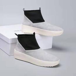 $enCountryForm.capitalKeyWord Australia - Mens Fear God Light Bone Boots for Men's Fog Boot Male Sneakers Womens Sneaker men Sports Chaussures Female Sport Shoes man