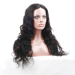unprocessed full lace wigs prices UK - Wholesale Cheap Price Brazilian Lace Frontal Human Hair Wigs Unprocessed Cheap Brazilian deep wave Remy Human Hair Wigs