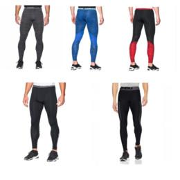 Acrylic Leggings Australia - Men's U&A Compression Tight Quick Dry Leggings Under Base Layer Amor Stretch Pants Slim Skinny Sports Jogging Gym Trousers M-2XL C42401