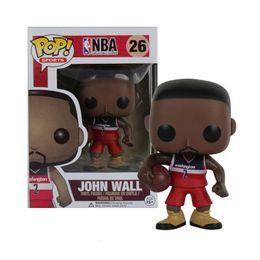 $enCountryForm.capitalKeyWord Australia - FUNKO POP Basketball star John Wall -Action Figure Collectible Model Toy for Fans Design