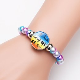 $enCountryForm.capitalKeyWord Australia - Musical Note Charm Bracelet Bead Bracelets Live Laugh Love Bird Jewelry Energy Balance Music Jewelry Gift