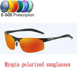 5062635700f Finished Polarized Myopia Sunglasses Men Women custom Short sighted Optics Driving  goggles women fashion Square sunglasses FML
