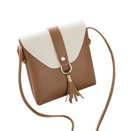 Candy Hit NZ - Cheap Sleeper #4001 Fashion Hit Color Tassels Cross Body Bag Shoulder Bag Phone Coin Bag bags for women 2018 bolsa