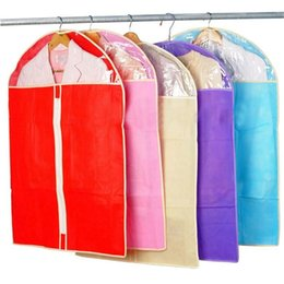 $enCountryForm.capitalKeyWord Australia - Wholesale- Fashion Home Dress Clothes Garment Suit Cover Case Dustproof Skirt Storage Bags Protector Clothes bag