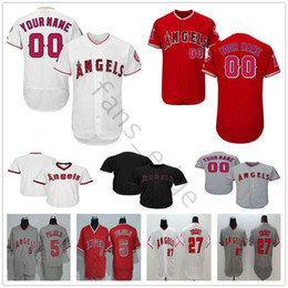 abe191e97 Custom Los Angeles Angels  5 Albert Pujols 2 Andrelton Simmons 28 Andrew  Heaney 33 C.J. Wilson Men Women Kids Youth Baseball Jerseys