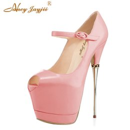 Other Black Ankle Strap Style 13cm High Heel Sandals Platforms Pole Dance Model Shoes 5 Inch Cover Heel Womens Shoes Attractive And Durable