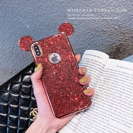 $enCountryForm.capitalKeyWord Australia - YunRT Fashion metal Sequin Glitter bling plating Lanyard cover case for iphone 6 6S 7 8 plus X XS XR Max Sexy woman phone couqe