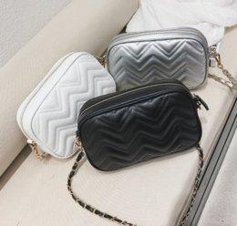 Nice womeN body online shopping - Designer Handbags Purses Lady Designer Fashion Women Bag with Thread Nice Women Shoulder Bag Chain Trend Simple Lady Shell Bag