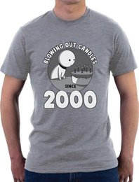 $enCountryForm.capitalKeyWord Australia - Blowing Out Candles Since 2000 16th Birthday Gift Idea T-Shirt Sweet Sixteen